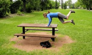 How To Parkour On A Picnic Table