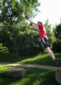 Parkour Workout Precision Jump